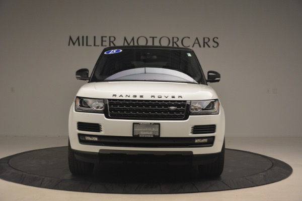 Used 2015 Land Rover Range Rover Supercharged for sale Sold at Bugatti of Greenwich in Greenwich CT 06830 12
