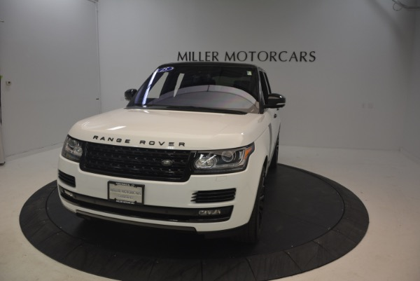 Used 2015 Land Rover Range Rover Supercharged for sale Sold at Bugatti of Greenwich in Greenwich CT 06830 13