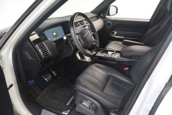 Used 2015 Land Rover Range Rover Supercharged for sale Sold at Bugatti of Greenwich in Greenwich CT 06830 17