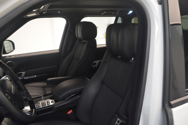 Used 2015 Land Rover Range Rover Supercharged for sale Sold at Bugatti of Greenwich in Greenwich CT 06830 19