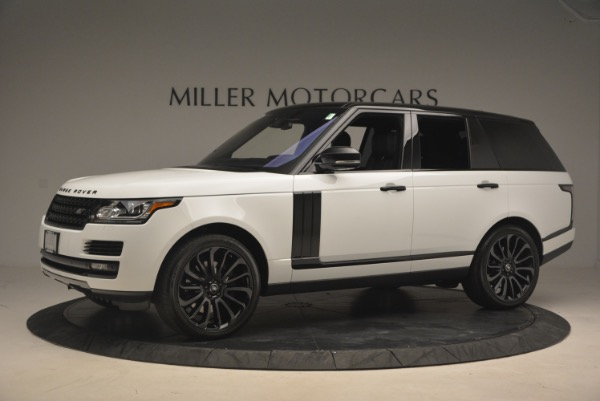 Used 2015 Land Rover Range Rover Supercharged for sale Sold at Bugatti of Greenwich in Greenwich CT 06830 2