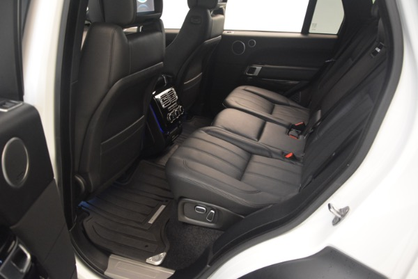 Used 2015 Land Rover Range Rover Supercharged for sale Sold at Bugatti of Greenwich in Greenwich CT 06830 23