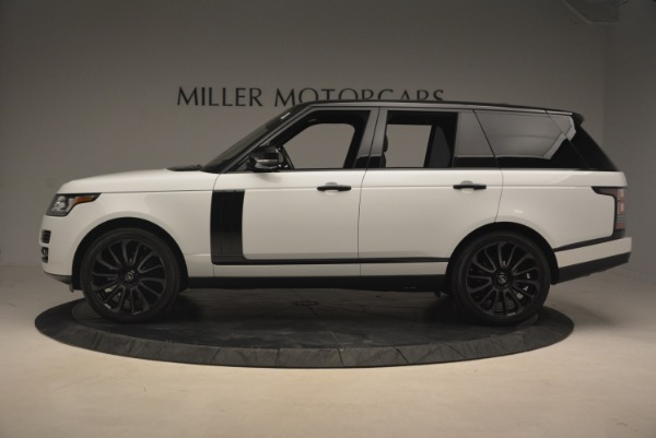 Used 2015 Land Rover Range Rover Supercharged for sale Sold at Bugatti of Greenwich in Greenwich CT 06830 3