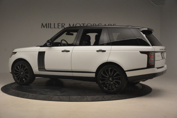 Used 2015 Land Rover Range Rover Supercharged for sale Sold at Bugatti of Greenwich in Greenwich CT 06830 4
