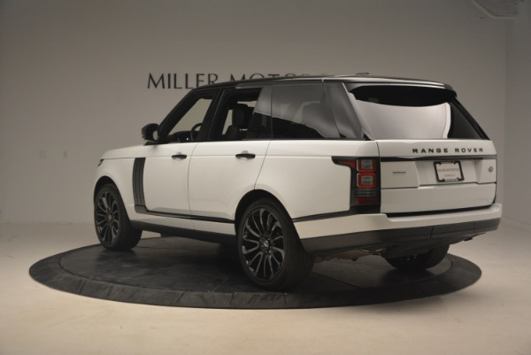 Used 2015 Land Rover Range Rover Supercharged for sale Sold at Bugatti of Greenwich in Greenwich CT 06830 5
