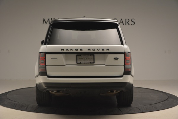 Used 2015 Land Rover Range Rover Supercharged for sale Sold at Bugatti of Greenwich in Greenwich CT 06830 6