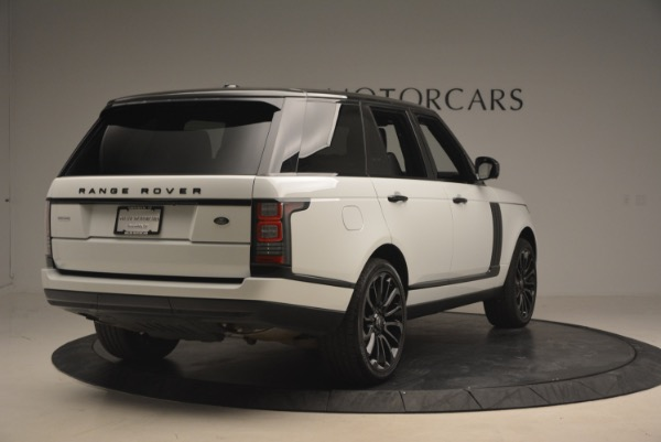 Used 2015 Land Rover Range Rover Supercharged for sale Sold at Bugatti of Greenwich in Greenwich CT 06830 7