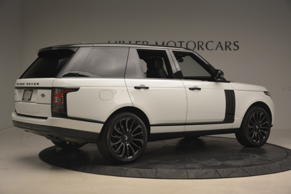Used 2015 Land Rover Range Rover Supercharged for sale Sold at Bugatti of Greenwich in Greenwich CT 06830 8