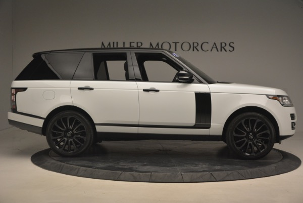 Used 2015 Land Rover Range Rover Supercharged for sale Sold at Bugatti of Greenwich in Greenwich CT 06830 9