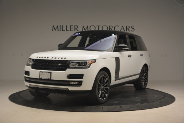 Used 2015 Land Rover Range Rover Supercharged for sale Sold at Bugatti of Greenwich in Greenwich CT 06830 1