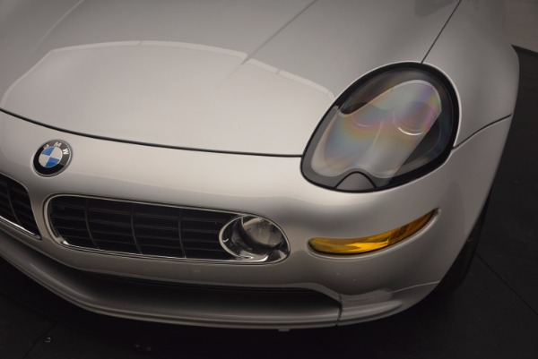 Used 2001 BMW Z8 for sale Sold at Bugatti of Greenwich in Greenwich CT 06830 26