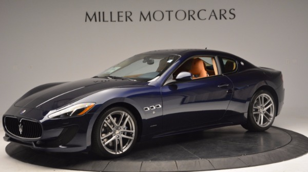 New 2017 Maserati GranTurismo Coupe Sport for sale Sold at Bugatti of Greenwich in Greenwich CT 06830 2