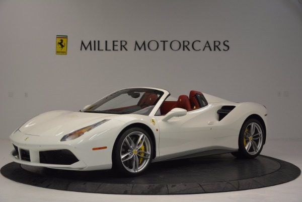 Used 2017 Ferrari 488 Spider for sale Sold at Bugatti of Greenwich in Greenwich CT 06830 2