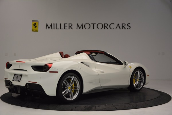 Used 2017 Ferrari 488 Spider for sale Sold at Bugatti of Greenwich in Greenwich CT 06830 8
