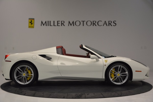 Used 2017 Ferrari 488 Spider for sale Sold at Bugatti of Greenwich in Greenwich CT 06830 9