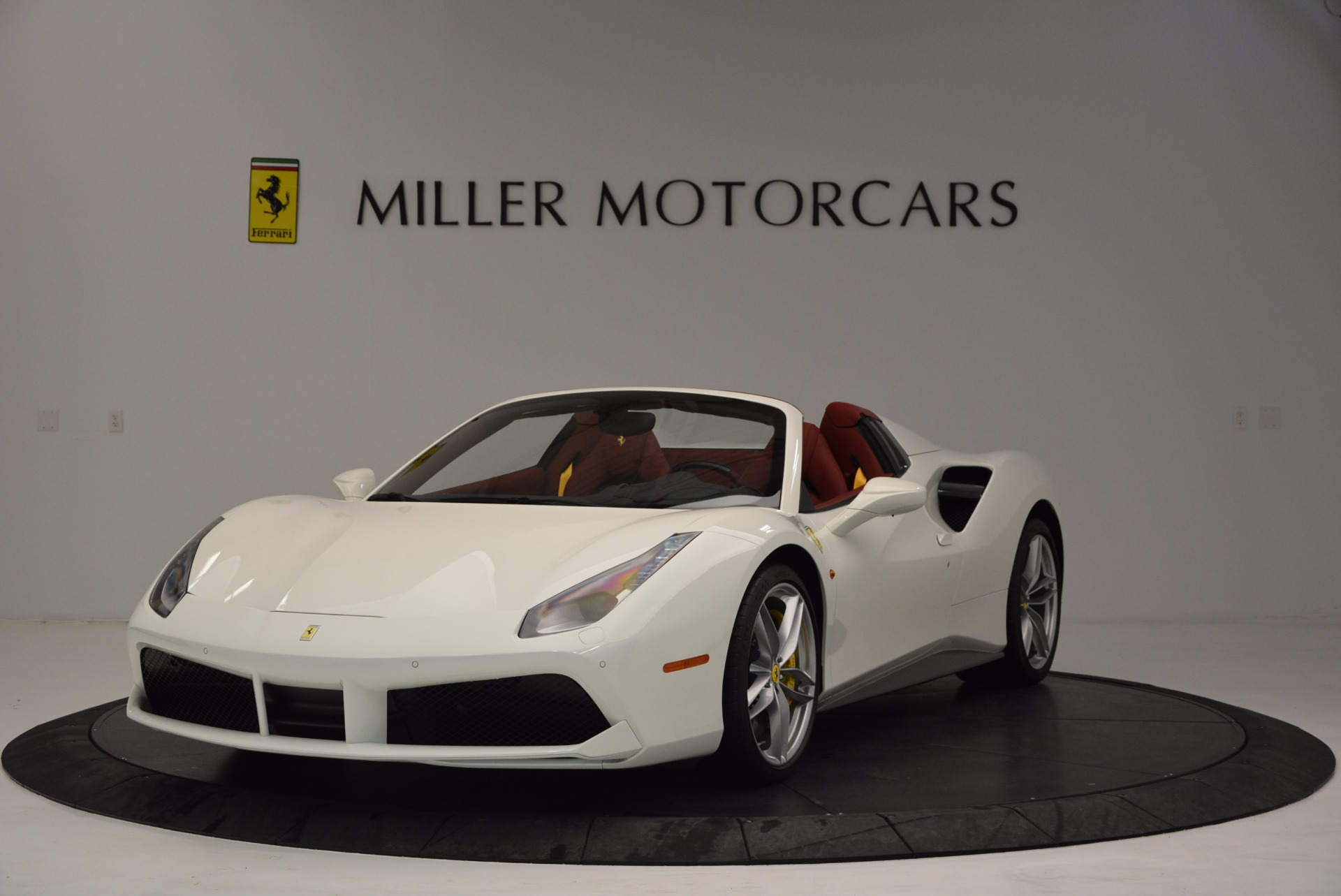 Used 2017 Ferrari 488 Spider for sale Sold at Bugatti of Greenwich in Greenwich CT 06830 1