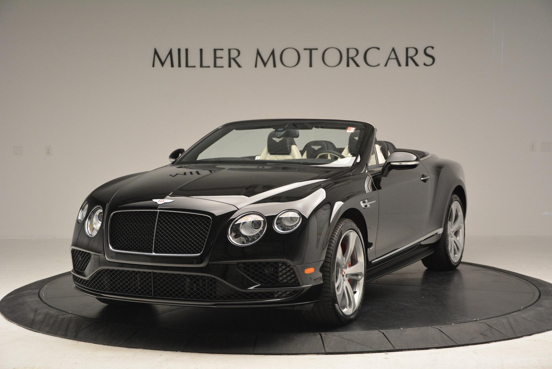 New 2016 Bentley Continental GT V8 S Convertible for sale Sold at Bugatti of Greenwich in Greenwich CT 06830 1
