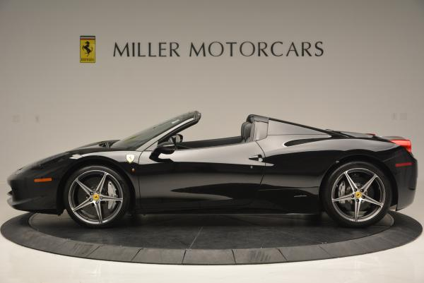 Used 2012 Ferrari 458 Spider for sale Sold at Bugatti of Greenwich in Greenwich CT 06830 3