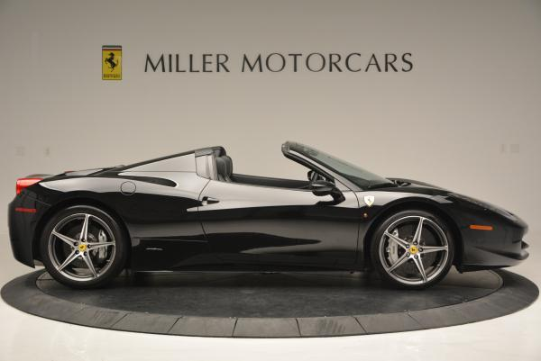 Used 2012 Ferrari 458 Spider for sale Sold at Bugatti of Greenwich in Greenwich CT 06830 9