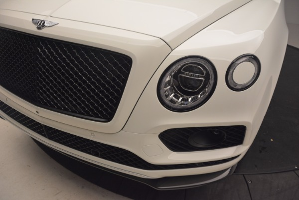 Used 2018 Bentley Bentayga Black Edition for sale Call for price at Bugatti of Greenwich in Greenwich CT 06830 14