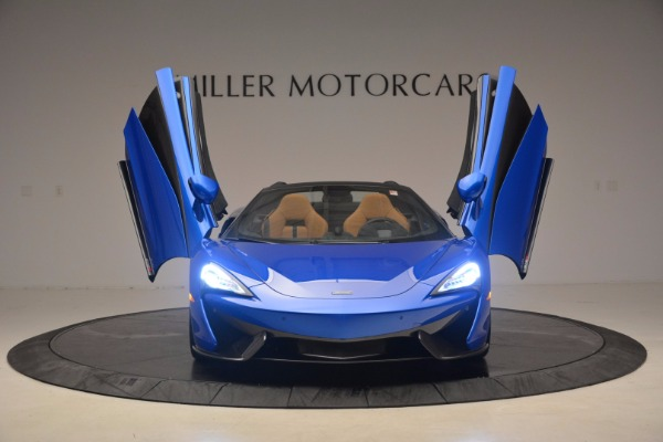 Used 2018 McLaren 570S Spider for sale Sold at Bugatti of Greenwich in Greenwich CT 06830 13