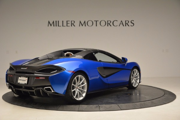 Used 2018 McLaren 570S Spider for sale Sold at Bugatti of Greenwich in Greenwich CT 06830 19