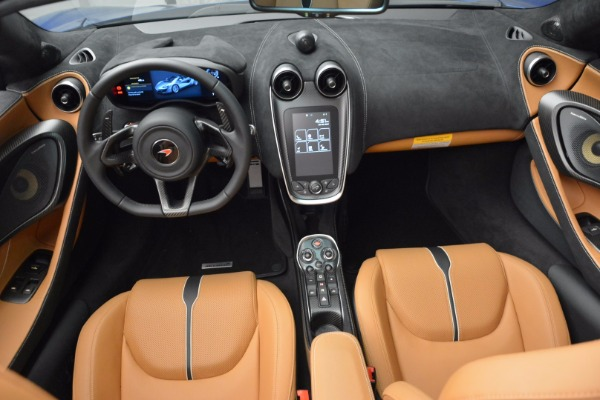 Used 2018 McLaren 570S Spider for sale Sold at Bugatti of Greenwich in Greenwich CT 06830 28