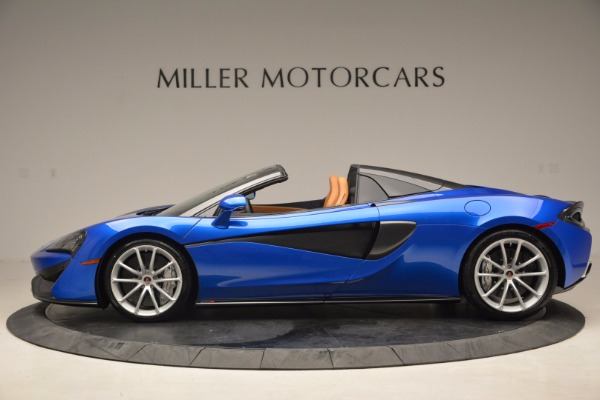 Used 2018 McLaren 570S Spider for sale Sold at Bugatti of Greenwich in Greenwich CT 06830 3