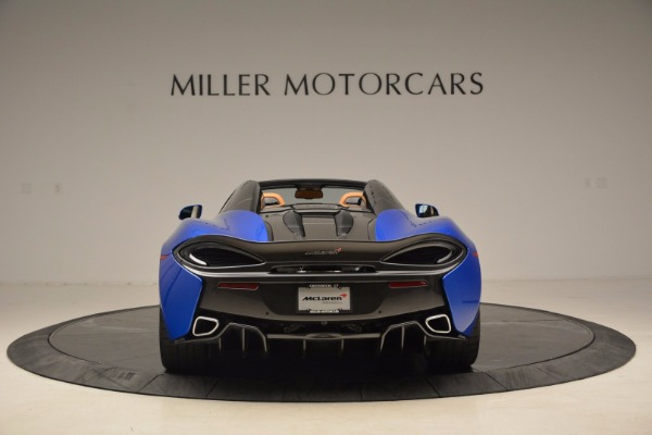 Used 2018 McLaren 570S Spider for sale Sold at Bugatti of Greenwich in Greenwich CT 06830 6