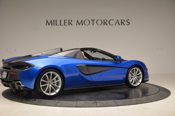 Used 2018 McLaren 570S Spider for sale Sold at Bugatti of Greenwich in Greenwich CT 06830 8