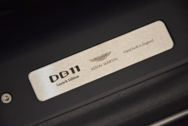 Used 2017 Aston Martin DB11 for sale Sold at Bugatti of Greenwich in Greenwich CT 06830 22
