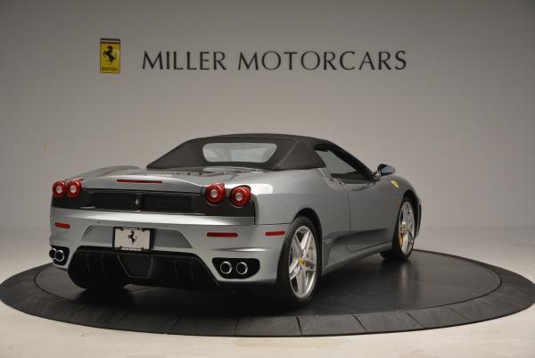 Used 2009 Ferrari F430 Spider F1 for sale Sold at Bugatti of Greenwich in Greenwich CT 06830 19