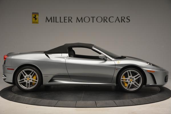 Used 2009 Ferrari F430 Spider F1 for sale Sold at Bugatti of Greenwich in Greenwich CT 06830 21