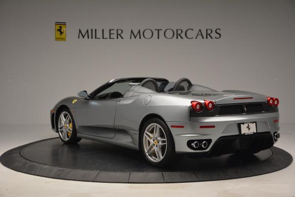 Used 2009 Ferrari F430 Spider F1 for sale Sold at Bugatti of Greenwich in Greenwich CT 06830 5