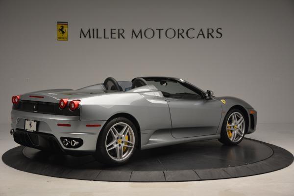 Used 2009 Ferrari F430 Spider F1 for sale Sold at Bugatti of Greenwich in Greenwich CT 06830 8