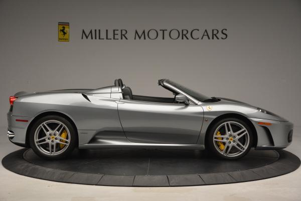 Used 2009 Ferrari F430 Spider F1 for sale Sold at Bugatti of Greenwich in Greenwich CT 06830 9