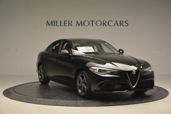New 2017 Alfa Romeo Giulia Q4 for sale Sold at Bugatti of Greenwich in Greenwich CT 06830 11