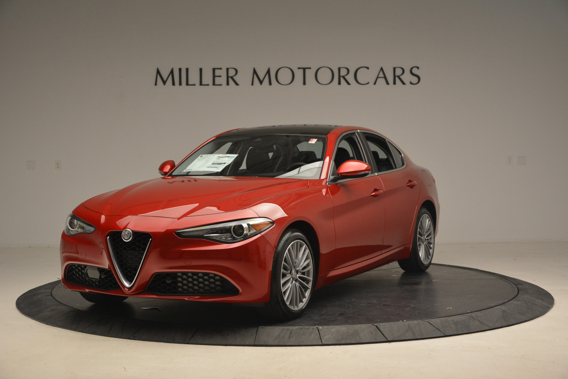 New 2017 Alfa Romeo Giulia Ti Q4 for sale Sold at Bugatti of Greenwich in Greenwich CT 06830 1