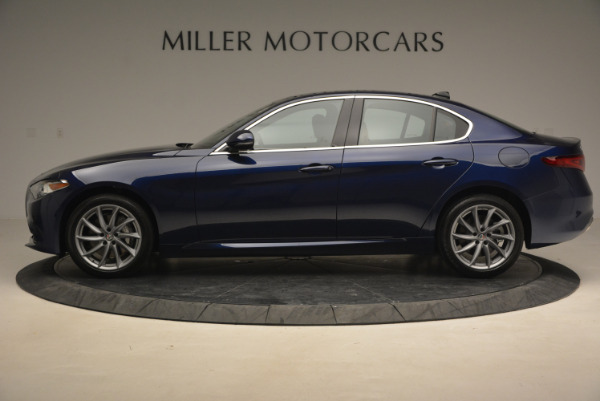 New 2017 Alfa Romeo Giulia Q4 for sale Sold at Bugatti of Greenwich in Greenwich CT 06830 3