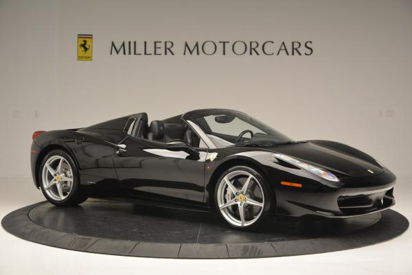 Used 2013 Ferrari 458 Spider for sale Sold at Bugatti of Greenwich in Greenwich CT 06830 10