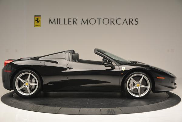 Used 2013 Ferrari 458 Spider for sale Sold at Bugatti of Greenwich in Greenwich CT 06830 9