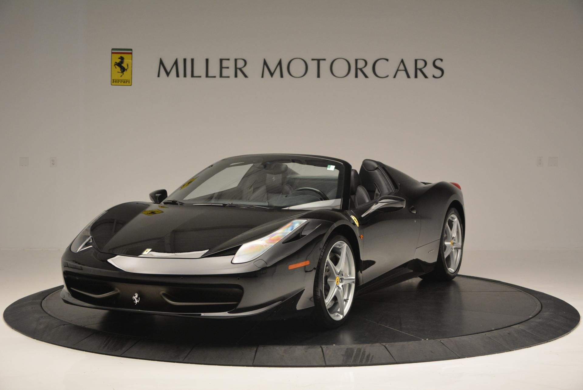 Used 2013 Ferrari 458 Spider for sale Sold at Bugatti of Greenwich in Greenwich CT 06830 1