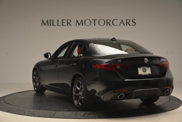 New 2017 Alfa Romeo Giulia Ti Q4 for sale Sold at Bugatti of Greenwich in Greenwich CT 06830 5