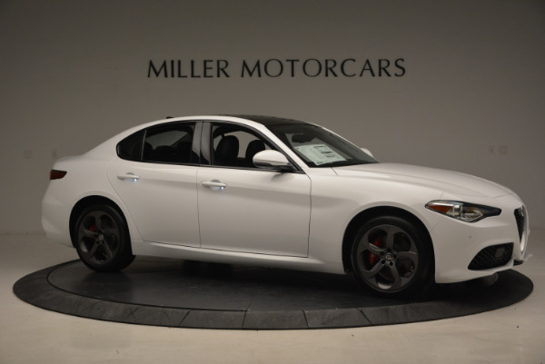 New 2017 Alfa Romeo Giulia Ti Sport Q4 for sale Sold at Bugatti of Greenwich in Greenwich CT 06830 10