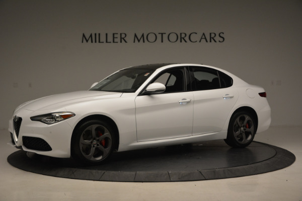 New 2017 Alfa Romeo Giulia Ti Sport Q4 for sale Sold at Bugatti of Greenwich in Greenwich CT 06830 2
