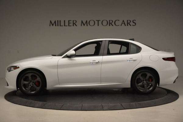 New 2017 Alfa Romeo Giulia Ti Sport Q4 for sale Sold at Bugatti of Greenwich in Greenwich CT 06830 3
