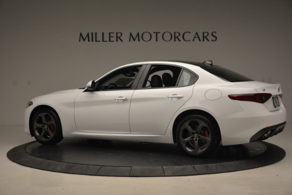 New 2017 Alfa Romeo Giulia Ti Sport Q4 for sale Sold at Bugatti of Greenwich in Greenwich CT 06830 4