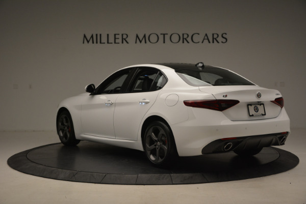 New 2017 Alfa Romeo Giulia Ti Sport Q4 for sale Sold at Bugatti of Greenwich in Greenwich CT 06830 5