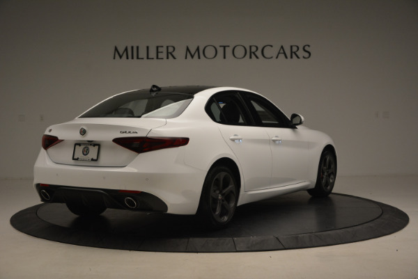 New 2017 Alfa Romeo Giulia Ti Sport Q4 for sale Sold at Bugatti of Greenwich in Greenwich CT 06830 7