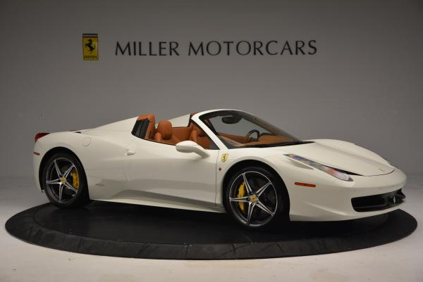 Used 2012 Ferrari 458 Spider for sale Sold at Bugatti of Greenwich in Greenwich CT 06830 10